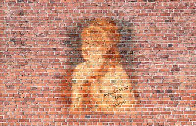 1876 Digital Art - Graffiti Wall Painting Renoir Woz Ere 1876  by Pod Artist