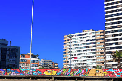 Photograph - Graffiti Wall Vina Del Mar by John Rizzuto