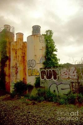 Photograph - Graffitti Art  America  by Margie Avellino