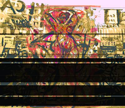 Grafiti Dance Art Print by Noredin Morgan