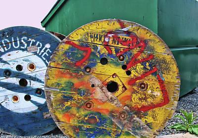 Photograph - Grafitti Art 5 by Allen Beatty