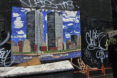 Photograph - Grafitti Art 8 by Allen Beatty