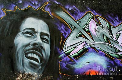Spray Paint Cans Photograph - Graffiti Magic by Bob Christopher