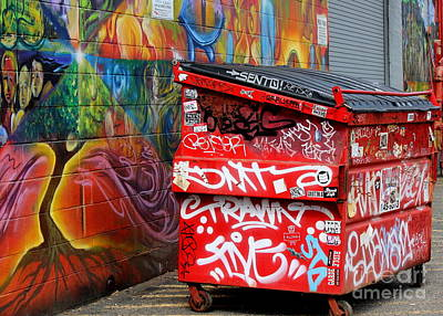 Photograph - Grafitti And Trash by Ranjini Kandasamy