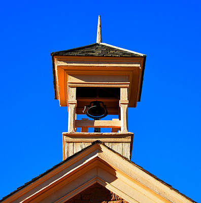 Photograph - Grafton School House Bell Tower 1886 by David Lee Thompson