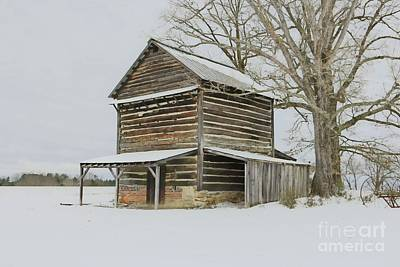 Photograph - Graham Miles Tobacco Barn by Benanne Stiens