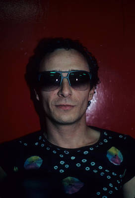 Graham Parker Art Print by Rich Fuscia