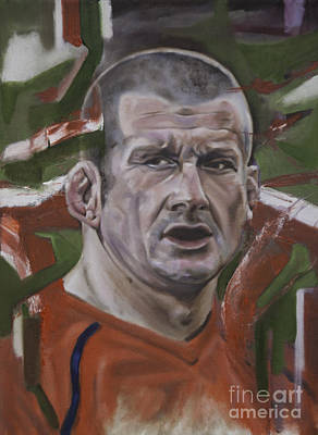 Painting - Graham Christopher Rowntree by James Lavott