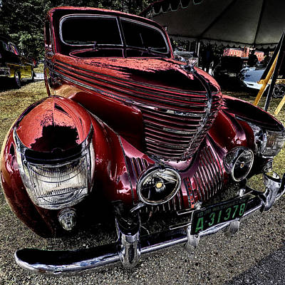 Digital Photograph - Graham Sharknose Coupe by David Patterson