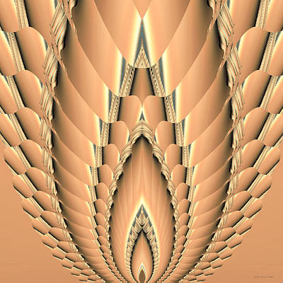 Digital Art - Grain Abstract by Judi Suni Hall