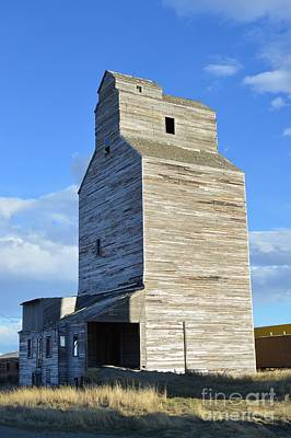 Photograph - Grain Elevator  by Chalet Roome-Rigdon