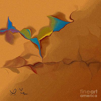 Digital Art - Grain In Our Dialog by Leo Symon