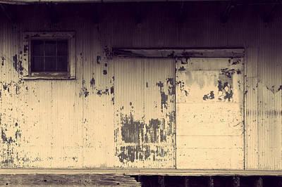 Photograph - Grain Mill Door by Joel Witmeyer