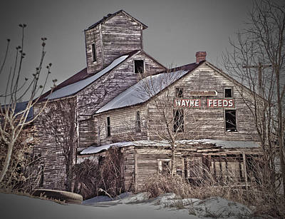 Photograph - Grain Mill by Robert Geary