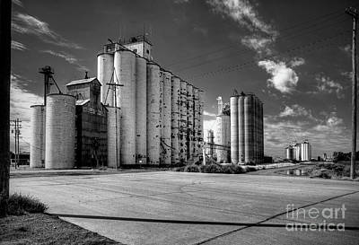 Photograph - Grain Storage by Fred Lassmann