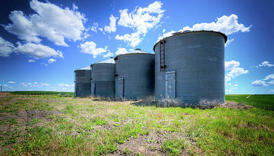 Photograph - Grain Storage by Spencer McDonald