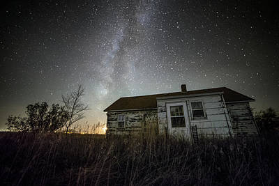Photograph - Gramma's House by Aaron J Groen