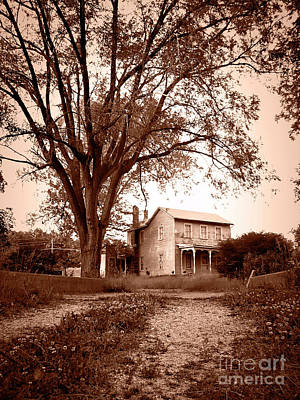 Photograph - Gramma's House by Jenness Asby