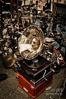 Classic Audio Player Photograph - Gramophone by Gabriela Insuratelu
