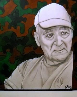 Grampa Art Print