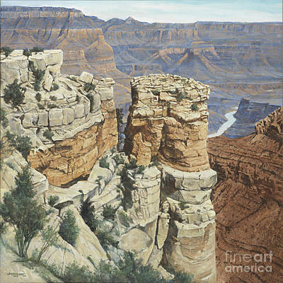 Gran Canyon Original by Don Langeneckert