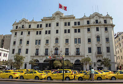 Photograph - Gran Hotel Bolivar, Lima, Peru by Venetia Featherstone-Witty