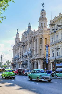 Photograph - Gran Teatro De La Habana by Joel Thai