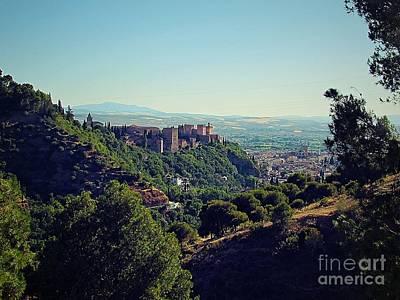 Spain Photograph - Granada Desde El Sacromonte by Julie Pacheco-Toye