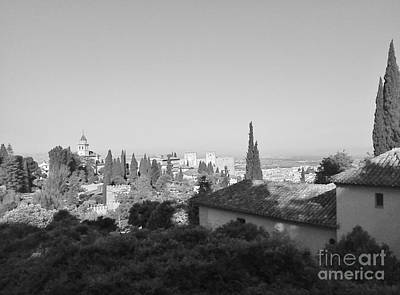 Photograph - Granada - Impression2 by Karina Plachetka