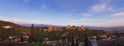 Islam Photograph - Granada Panorama by Joan Carroll