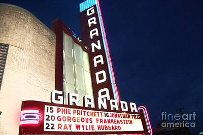 Greenville Photograph - Granada Theater by Debbi Granruth