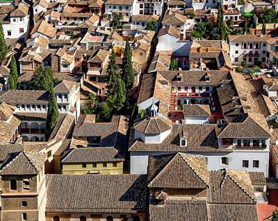 Photograph - Granada Townscape by Anthony Dezenzio