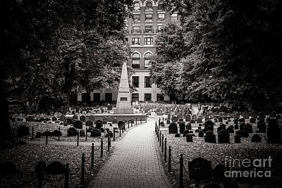 Granary Burying Ground Art Print
