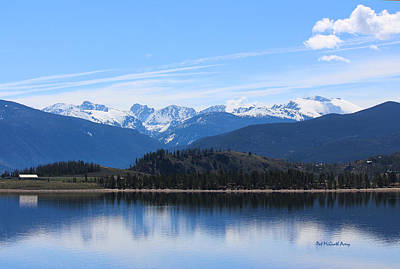 Photograph - Granby Lake by Pat McGrath Avery