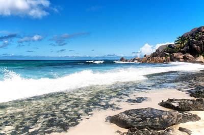Photograph - Grand Anse Beach by Fabrizio Troiani