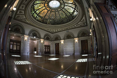 Photograph - Grand Army Of The Republic Dome - 2 by David Bearden
