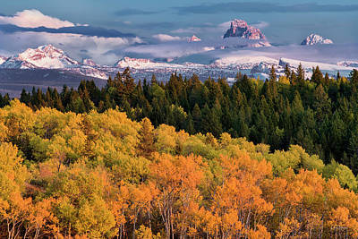 Photograph - Grand Autumn Glow by Leland D Howard