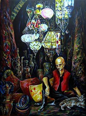 Grand Bazaar.the Cave Of Treasures Print by Anna Duyunova