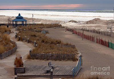 Grand Bend Walkways  Art Print