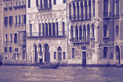 Typography Tees - Grand Canal 2. Venice Italy by George Robinson