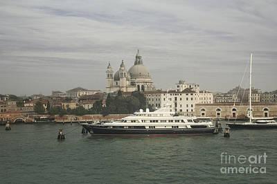 Old City Photograph - Grand Canal And Basilica Santa Maria Della Salute, Venice, Italy by Dani Prints and Images
