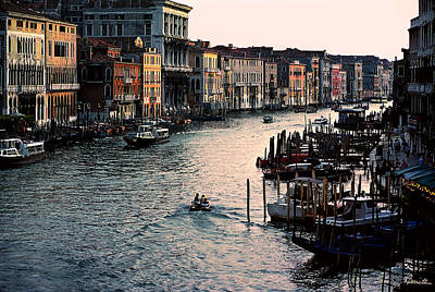 Photograph - Grand Canal At Sunset No. 2 by Joe Bonita