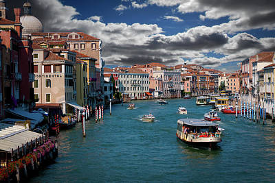Photograph - Grand Canal Daylight by Harry Spitz