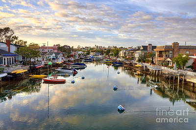 Balboa Digital Art - Grand Canal by Eddie Yerkish