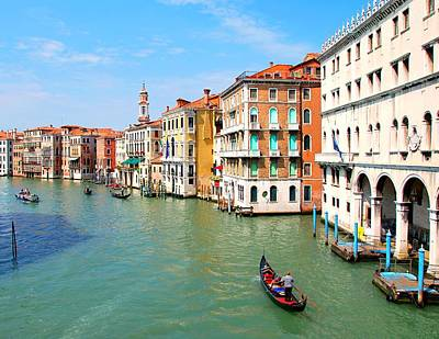Grand Canal In Venice. Art Print by Hamik ArtS