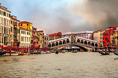 Photograph - Grand Canal by Maria Coulson