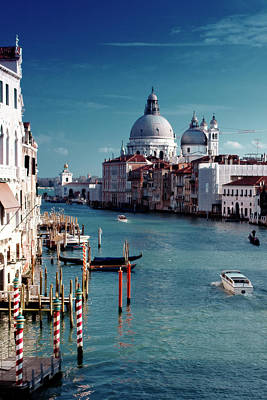 Traditional Culture Photograph - Grand Canal Of Venice by Michelle O'Kane