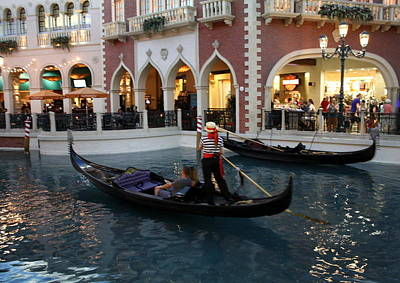 Photograph - Grand Canal Shopping by David Nicholls