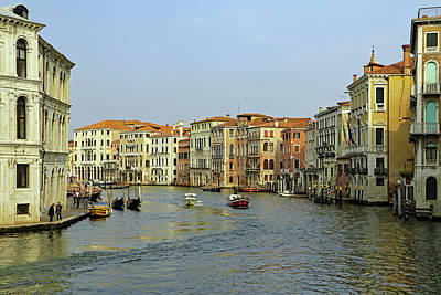 Photograph - Grand Canal by Tony Murtagh