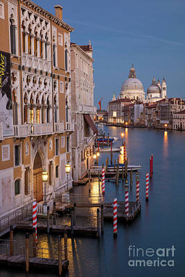 Photograph - Grand Canal Twilight II by Brian Jannsen